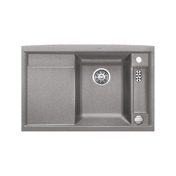 BLANCO AXIA II 45 S | SILGRANIT Alu Metallic | Kitchen sinks | Blanco