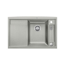 BLANCO AXIA II 45 S | SILGRANIT Pearl Grey | Kitchen sinks | Blanco