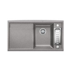 BLANCO AXIA II 5 S | SILGRANIT Alu Metallic | Küchenspülbecken | Blanco