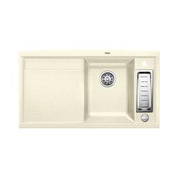 BLANCO AXIA II 5 S | SILGRANIT Jasmine | Fregaderos de cocina | Blanco
