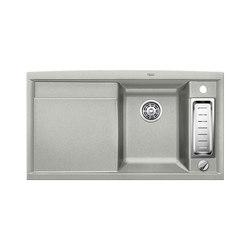 BLANCO AXIA II 5 S | SILGRANIT Pearl Grey | Fregaderos de cocina | Blanco