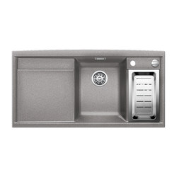 BLANCO AXIA II 6 S | SILGRANIT Alu Metallic | Kitchen sinks | Blanco