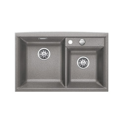 BLANCO AXIA II 8 | SILGRANIT Alu Metallic | Kitchen sinks | Blanco