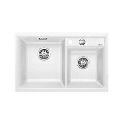 BLANCO AXIA II 8 | SILGRANIT White | Kitchen sinks | Blanco