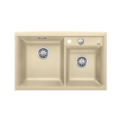 BLANCO AXIA II 8 | SILGRANIT Champagne | Kitchen sinks | Blanco