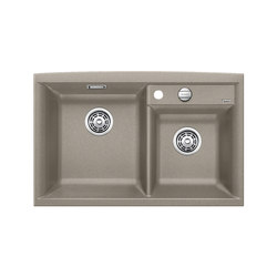 BLANCO AXIA II 8 | SILGRANIT Tartufo | Kitchen sinks | Blanco