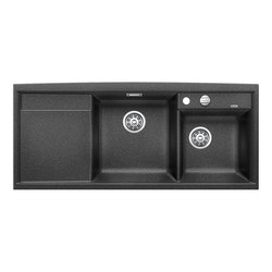 BLANCO AXIA II 8 S | SILGRANIT Anthracite | Kitchen sinks | Blanco
