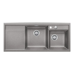BLANCO AXIA II 8 S | SILGRANIT Alu Metallic | Kitchen sinks | Blanco