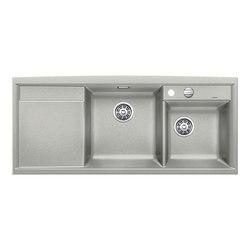 BLANCO AXIA II 8 S | SILGRANIT Pearl Grey | Kitchen sinks | Blanco