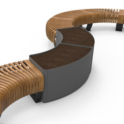 Radius Planter | Stellwände | Green Furniture Concept