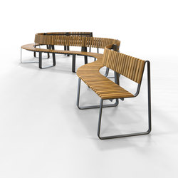 IOU Back | Waiting area benches | Green Furniture Concept