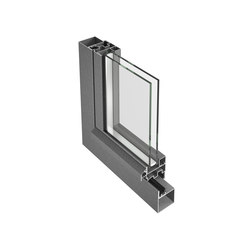 Jansen-Economy 50 window, steel and stainless steel | Window systems | Jansen