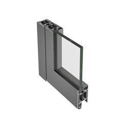 Janisol 2 EI30 fire protection door, steel and stainless steel | Porte d'ingresso | Jansen