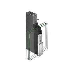 VISS TVS Facade | Sistemas constructivos de fachada | Jansen