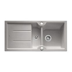 BLANCO IDESSA 6 S | Keramik Alu Grau | Küchenspülbecken | Blanco