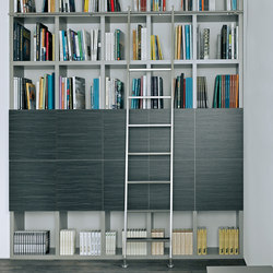 Akzent Ladder System/ Sliding Ladder | Library ladders | MWE Edelstahlmanufaktur