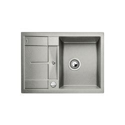 BLANCO METRA 45 S Compact | SILGRANIT Perlgrau | Küchenspülbecken | Blanco