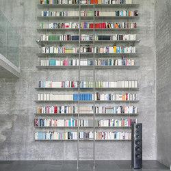 Klassik Ladder System/ Tangens Ladder | Scalette per libreria | MWE Edelstahlmanufaktur