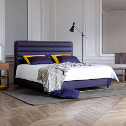 Literie Collection Prestige | Accotoirs Lounge | Double beds | Treca Interiors Paris