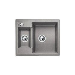 BLANCO METRA 6 | SILGRANIT Alu Metallic | Küchenspülbecken | Blanco
