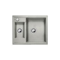 BLANCO METRA 6 | SILGRANIT Pearl Grey | Kitchen sinks | Blanco