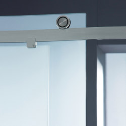 Claro Shower System | Sliding door fittings | MWE Edelstahlmanufaktur