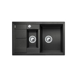 BLANCO METRA 6 S Compact | SILGRANIT Anthrazit | Küchenspülbecken | Blanco