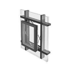 Parallel opening window | Window systems | Jansen