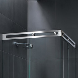 Luna Shower System | Shower hinges | MWE Edelstahlmanufaktur