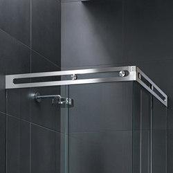 Luna Shower System | Cerniere box doccia | MWE Edelstahlmanufaktur