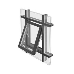 Projected top-hung window | Sistemi di finestre | Jansen