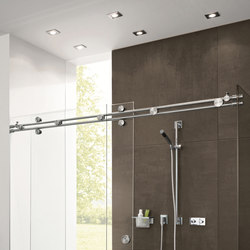 Miami Shower System | Sliding door fittings | MWE Edelstahlmanufaktur