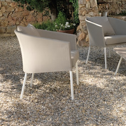 Amy Living Armchair | Garden chairs | Talenti