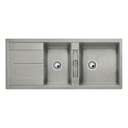 BLANCO METRA 8 S | SILGRANIT Perlgrau | Küchenspülbecken | Blanco