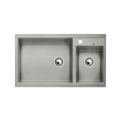 BLANCO METRA 9 | SILGRANIT Pearl Grey | Kitchen sinks | Blanco