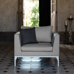 Astor Living Armchair | Garden armchairs | Talenti