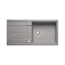 BLANCO METRA XL 6 S | SILGRANIT Alu Metallic | Küchenspülbecken | Blanco