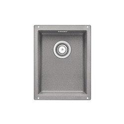 BLANCO SUBLINE 320-U | SILGRANIT Alu Metallic | Küchenspülbecken | Blanco