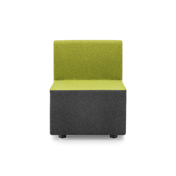 PABLO MODULAR Modular unit in between | Modular seating elements | Girsberger