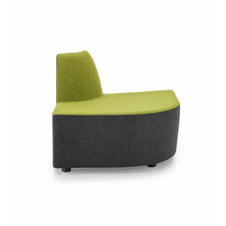 PABLO MODULAR Modular corner unit negative | Modular seating elements | Girsberger