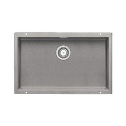 BLANCO SUBLINE 700-U | SILGRANIT Alu Metallic | Küchenspülbecken | Blanco