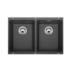 BLANCO SUBLINE 350/350-U | SILGRANIT Anthracite | Kitchen sinks | Blanco