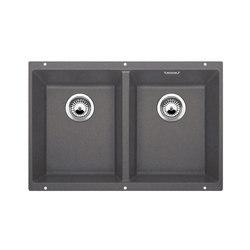 BLANCO SUBLINE 350/350-U | SILGRANIT Rock Grey | Kitchen sinks | Blanco