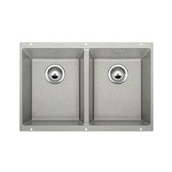 BLANCO SUBLINE 350/350-U | SILGRANIT Pearl Grey | Kitchen sinks | Blanco
