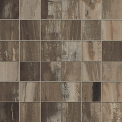 Petrified Wood Brown Mix | Tiles | ASCOT CERAMICHE