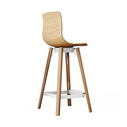 Loku High Bar Stool | Sgabelli bar | Case Furniture