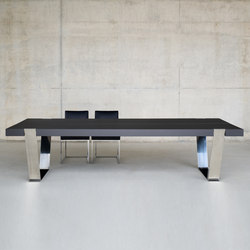Giza steel dining table | Esstische | BALTUS