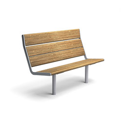 April bench high back | Exterior benches | Vestre