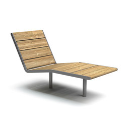April sunbench | Sillas de exterior | Vestre