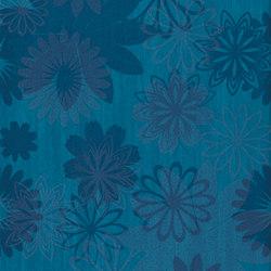 Pennellato Blu Inserto Floreale | Wall tiles | ASCOT CERAMICHE